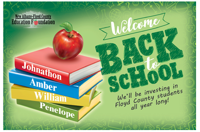 New Albany Floyd County Back to School direct mail